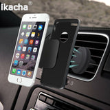 Magnetic Universal Car Air Vent Mobile Phone Holder by ikacha - Titanwise
