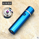 Mini USB Rechargeable Metal Plasma Lighter with Dual Pulse Arc