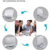 KISSCASE Aluminium Desktop Tablet & Mobile Phone Stand - 360 Degree Rotatable