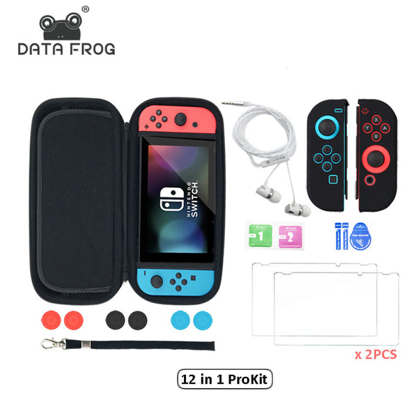 Data Frog Nintendo Switch Carrying Case Storage Bag Pack - Different packs available