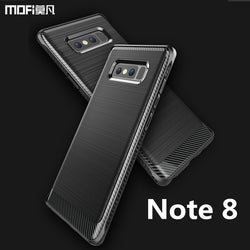 MOFi Textured Metal Back Design Case For Samsung Note 8