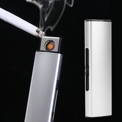 USB Rechargeable Metal Strip Flameless Plasma Lighter