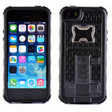 Multi Functional Armour Case For iPhone 5, 5S, 5C, SE, 6, 6 Plus, 6S, 6S Plus, 7, 7 Plus, 8, 8 Plus, X with Bottle Opener and Cigarette Lighter