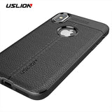 USLION Luxury Litchi Leather Texture Phone Case For iPhone 6, 6 Plus, 6S, 6S Plus, 7, 7 Plus, 8, 8 Plus, X