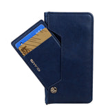 Luxury Leather Magnetic Flip Wallet Case For iPhones and Samsung Galaxy Phones with Side Card Holder