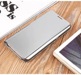 Ultra Thin Flip Case For iPhones and Samsung Galaxy Phones with Kickstand