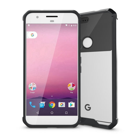 Slim Transparent case with Air Cushion Technology For Google Pixel, Pixel XL