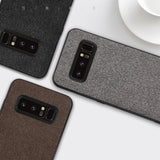 MOFi Patterned Back Cover with Silicone Edge Case for Samsung Note 8
