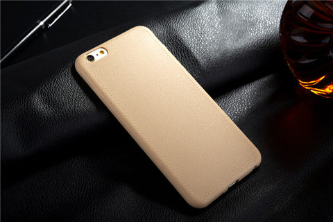 Super Thin Leather Case for iPhone 5, 5S, SE, 6, 6 Plus, 6S, 6S Plus, 7, 7 Plus, 8, 8 Plus