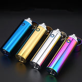 USB Rechargeable Metal Plasma Lighter with 6 Powerful Pulse Arcs
