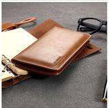 FLOVEME Genuine Leather Universal Mobile Phone Wallet Case