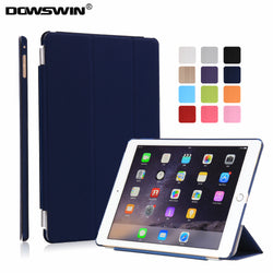 DOWSWIN Smart Cover Flip Case for iPad Air 2 - A1566, A1567