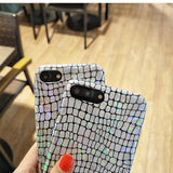 KISSCASE Luxury Shiny Crocodile Pattern Case For iPhone 6, 6 Plus, 6S, 6S Plus, 7, 7 Plus, 8, 8 Plus