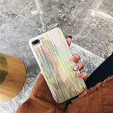 Shiny Rainbow Mirror Case For iPhone 6, 6 Plus, 6S, 6S Plus, 7, 7 Plus, 8, 8 Plus, X