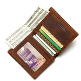 Tauren Vintage Handmade Horse Leather Men's Wallet
