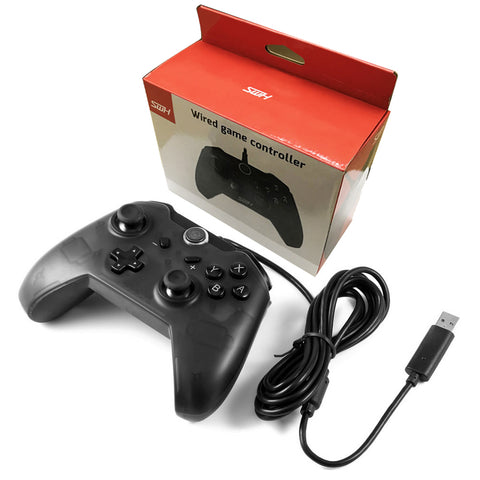 Wired Pro Controller for Nintendo Switch and PC with 7.2 Feet USB ...