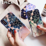 LACK Geometry Pattern Phone Case For iPhone 6, 6 Plus, 6S, 6S Plus, 7, 7 Plus, 8, 8 Plus, X