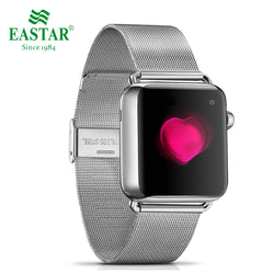 Eastar Stainless Steel Milanese Loop Strap Band with Double Buckle for Apple Watch Series 1, 2, 3, 4, 5