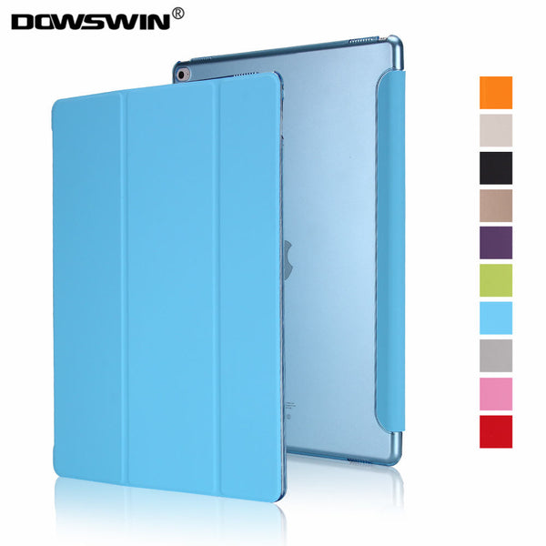 DOWSWIN Smart Cover Flip Case for iPad Pro 12.9 inch - A1584, A1652, A1670, A1671