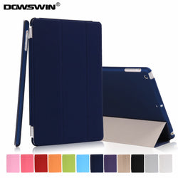 DOWSWIN Smart Cover Flip Case for iPad Mini 1, 2, 3 - A1432, A1454, A1455, A1489, A1490, A1491, A1599, A1600, A1601