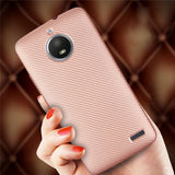 NiceKing Carbon Fibre Texture Armour Case For Motorola Phones