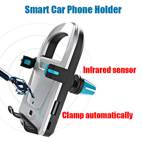 New Electric Infrared Sensor Universal Car Air Vent Mobile Phone Holder
