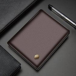 Laorentou Classic Genuine Leather Men's Wallet