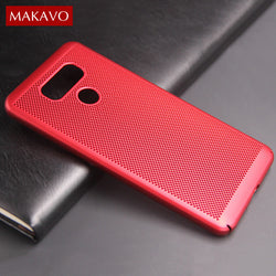 MAKAVO Heat Dissipation Case For LG K10 2017, G6, V30