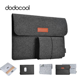 dodocool Soft Scratch-Resistant 13.3 inch Laptop Bag - For Apple 13-inch MacBook Air, 13-inch MacBook Pro Retina display and more