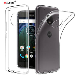 MILYSSI Ultra Thin Silicone Case For Motorola Phones