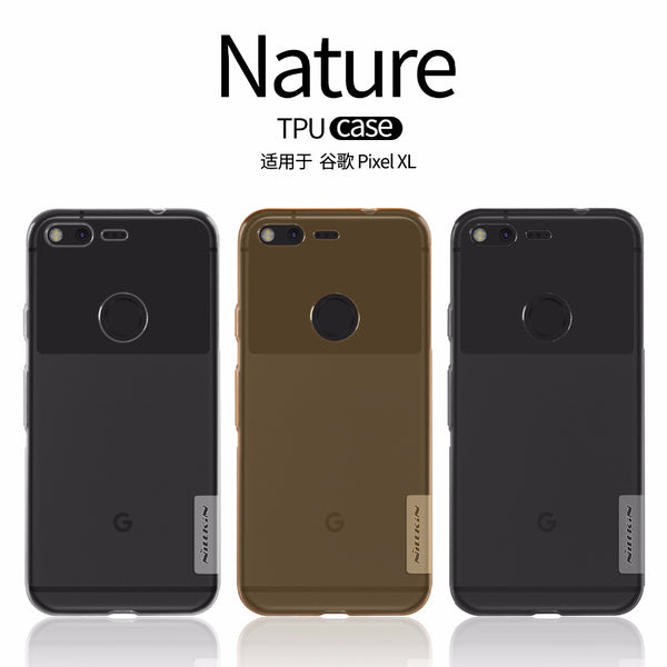 NILLKIN Ultra Thin Transparent Nature TPU Case for Google Pixel, Pixel XL