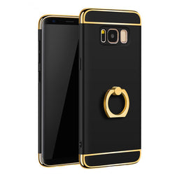 Luxury Metal Ring Grip Case for Samsung Galaxy Phones