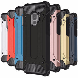 Durable Armour Case For Samsung Galaxy S5, S6, S6 Edge, S7, S7 Edge, S8, S8 Plus, S9, S9 Plus
