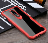 Slim Transparent Case with Edge Protection for OnePlus 6