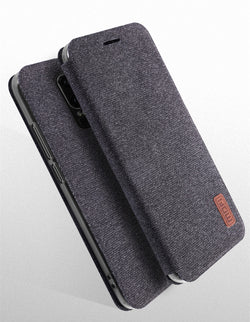 MOFi Fabric Flip Case for OnePlus 6