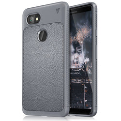 Lenuo Hybrid Leather Back Case For Google Pixel 2, Pixel 2 XL