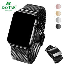 Eastar Premium Stainless Steel Milanese Loop Strap Band with Double Buckle for Apple Watch Series 1, 2, 3, 4, 5 - 4 Colours available