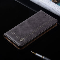 CaseMe Luxury Flip Wallet Case for Motorola G3, G4, G4 Plus, G4 Play, G5, G5 Plus, G6, G6 Plus