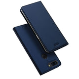 Luxury Magnetic Leather Flip Wallet Case For OnePlus 5, 5T, 6