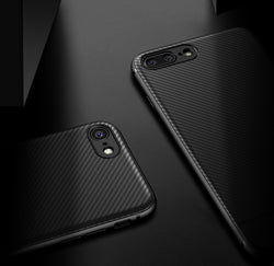 Carbon Fibre Pattern Case for iPhone 6, 6 Plus, 6S, 6S Plus, 7, 7 Plus, 8, 8 Plus, X, XR, XS, XS Max, 11, 11 Pro, 11 Pro Max