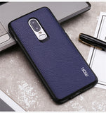 MOFi Luxury PU Leather OnePlus 6 Case