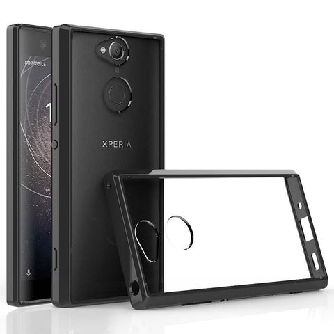 Ultra Slim Transparent Case with Edge Protection for Sony Xperia XA2, XA2 Ultra