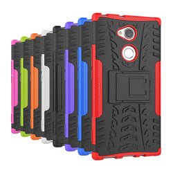 Hybrid Armour Kick-stand Case For Sony Xperia L2, XA2, XA2 Ultra