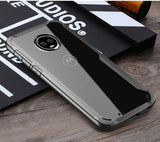 UTOPER Transparent Slim Case with Edge Plating for Moto E5, E5 Plus, G5s, G5s Plus, G6, G6 Plus, Z2 Play, Z3 Play