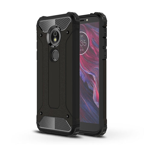 Subin Hybrid Armour Case for Moto G6, G6 Play