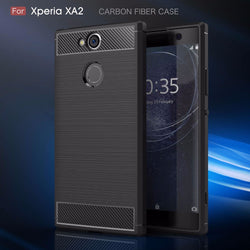 Brushed Carbon Fibre Case for Sony Xperia Phones