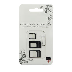 4 in 1 SIM Card Adapter Kit