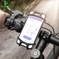 FLOVEME Universal Bike Phone Holder - Fits Bicycles, Motorcycles, Pushchairs