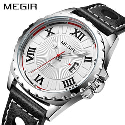 MEGIR Official ML1019G Sport Casual Men's Quartz Watch