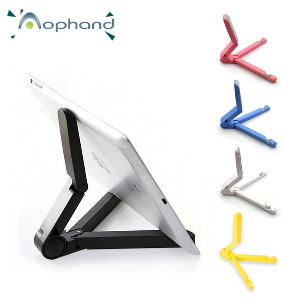 Foldable + Adjustable Universal Tablet Stand - 5 Different Colours by Zouhi - Titanwise